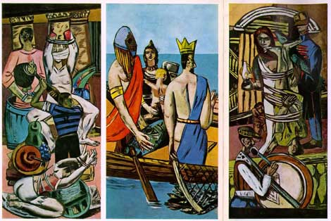 Max Beckmann, Departure,