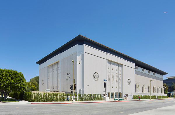 stephen j goldberg los angeles lawyer façade of marciano foundation on wilshire blvd