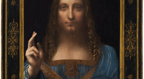 Leonardo da Vinci or Boltraffio attrib Salvator Mundi circa 1500 470x260
