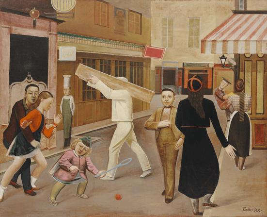 censorship stephen j goldberg art article image balthus the street 1933