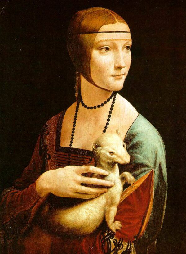 authentic artwork stephen j goldberg art article image leonardo da vinci lady with an ermine
