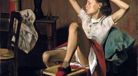 balthus balthasar klossowski de rola therese dreaming 1938 470x260