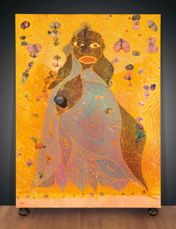 stephen goldberg chris ofili the holy virgin mary