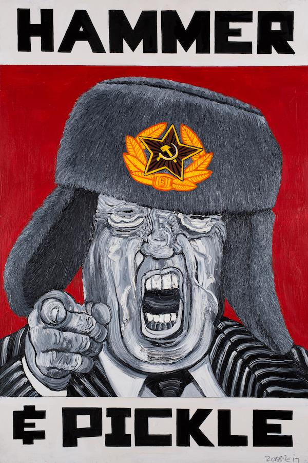 Donald Trump 2017 HAMMER PICKLE copy