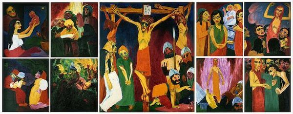 emil nolde life of the christ la vie du christ 1912